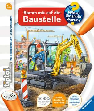 32916 tiptoi® tiptoi® Komm mit auf die Baustelle von Ravensburger 1