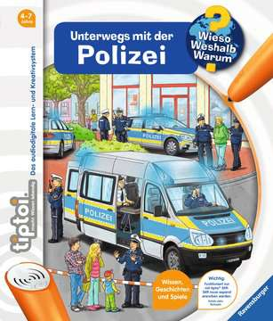 tiptoi® Unterwegs mit der Polizei Kinderbücher;tiptoi® - Bild 1 - Ravensburger