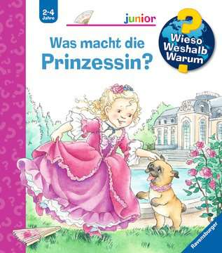 Was macht die Prinzessin? Kinderbücher;Wieso? Weshalb? Warum? - Bild 1 - Ravensburger