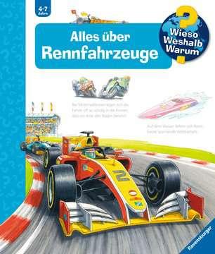 Alles über Rennfahrzeuge Kinderbücher;Wieso? Weshalb? Warum? - Bild 1 - Ravensburger