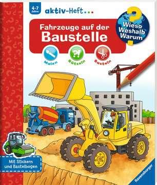 Fahrzeuge auf der Baustelle Kinderbücher;Wieso? Weshalb? Warum? - Bild 2 - Ravensburger