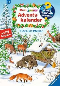 32952 Wieso? Weshalb? Warum? Mein junior Adventskalender Tiere im Winter von Ravensburger 1