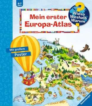32981 Wieso? Weshalb? Warum? Mein erster Europa-Atlas von Ravensburger 1