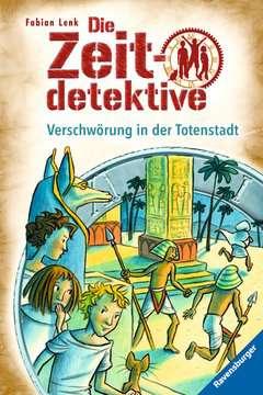 34518 Kinderliteratur Die Zeitdetektive, Band 1: Verschwörung in der Totenstadt von Ravensburger 1
