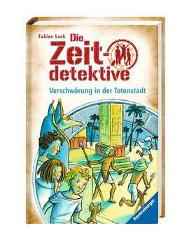34518 Kinderliteratur Die Zeitdetektive, Band 1: Verschwörung in der Totenstadt von Ravensburger 2