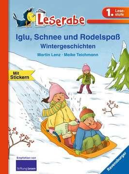 36154 Erstlesebücher Iglu, Schnee und Rodelspaß. Wintergeschichten von Ravensburger 1