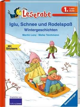 36154 Erstlesebücher Iglu, Schnee und Rodelspaß. Wintergeschichten von Ravensburger 2