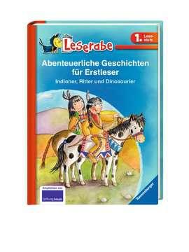 36291 Erstlesebücher Abenteuerliche Geschichten für Erstleser. Indianer, Ritter und Dinosaurier von Ravensburger 2