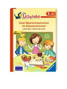Zwei Meerschweinchen im Klassenzimmer Kinderbücher;Erstlesebücher - Bild 2 - Ravensburger