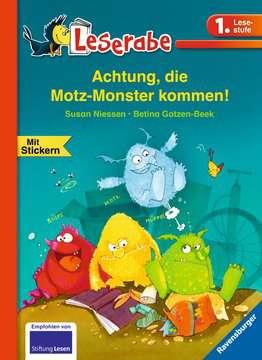 36489 Erstlesebücher Achtung, die Motz-Monster kommen! von Ravensburger 1