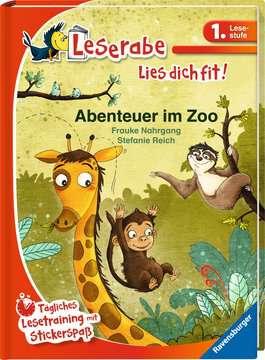36521 Erstlesebücher Abenteuer im Zoo von Ravensburger 2