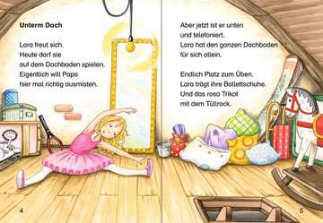 36533 Erstlesebücher Lara und die freche Elfe tanzen Ballett von Ravensburger 4