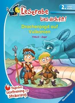 Drachenjagd auf Vulkanien Lernen und Fördern;Lernbücher - Bild 1 - Ravensburger