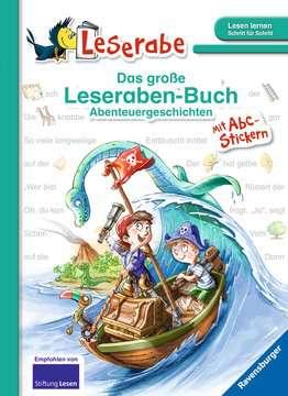 36556 Erstlesebücher Das große Leseraben-Buch - Abenteuergeschichten von Ravensburger 1
