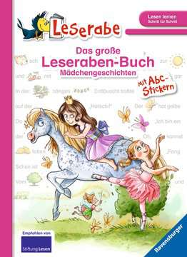 Das große Leseraben-Buch - Mädchengeschichten Kinderbücher;Erstlesebücher - Bild 1 - Ravensburger
