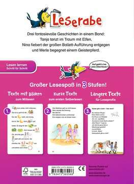 36558 Erstlesebücher Das große Leseraben-Buch - Mädchengeschichten von Ravensburger 3