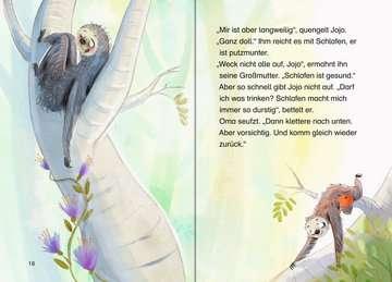 36561 Erstlesebücher Jojo und die Dschungelbande, Band 1: Ein Faultier findet Freunde von Ravensburger 4