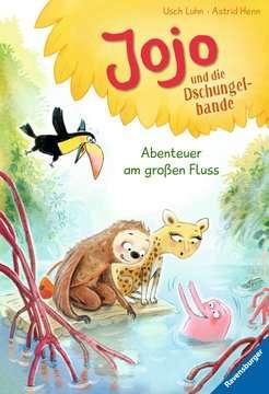 36562 Erstlesebücher Jojo und die Dschungelbande, Band 2: Abenteuer am großen Fluss von Ravensburger 1