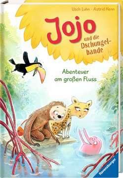 36562 Erstlesebücher Jojo und die Dschungelbande, Band 2: Abenteuer am großen Fluss von Ravensburger 2