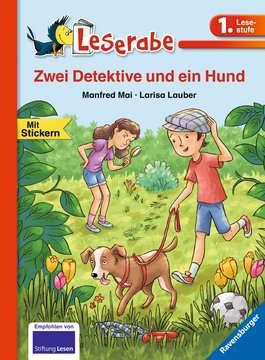 36566 Erstlesebücher Zwei Detektive und ein Hund von Ravensburger 1