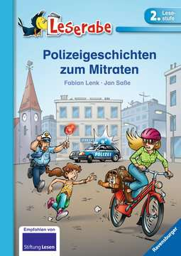 36568 Erstlesebücher Polizeigeschichten zum Mitraten von Ravensburger 1