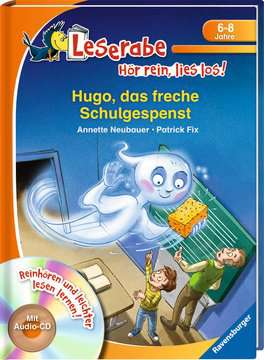 36574 Erstlesebücher Hugo, das freche Schulgespenst von Ravensburger 2