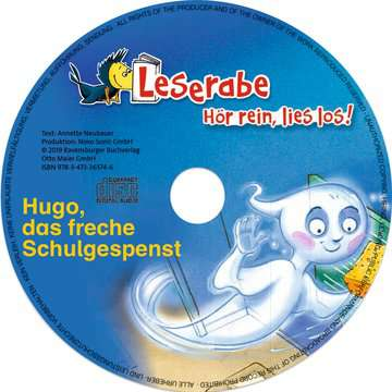 36574 Erstlesebücher Hugo, das freche Schulgespenst von Ravensburger 5