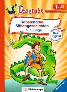 36576 Erstlesebücher Rabenstarke Silbengeschichten für Jungs von Ravensburger 1