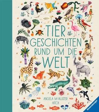 36589 Bilderbücher und Vorlesebücher Tiergeschichten rund um die Welt von Ravensburger 1