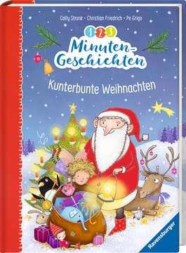36593 Bilderbücher und Vorlesebücher 1-2-3 Minutengeschichten: Kunterbunte Weihnachten von Ravensburger 2