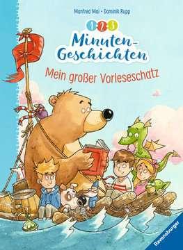 1-2-3 Minuten-Geschichten: Mein großer Vorleseschatz Kinderbücher;Bilderbücher und Vorlesebücher - Bild 1 - Ravensburger