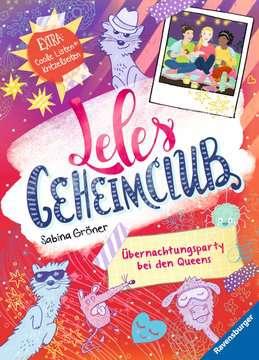 36745 Kinderliteratur Leles Geheimclub, Band 2: Übernachtungsparty bei den Queens von Ravensburger 1