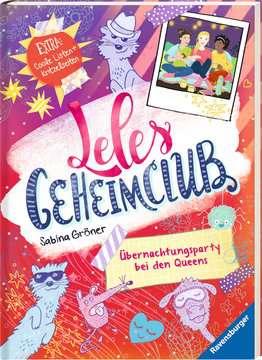 36745 Kinderliteratur Leles Geheimclub, Band 2: Übernachtungsparty bei den Queens von Ravensburger 2
