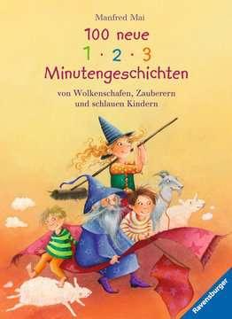 36814 Bilderbücher und Vorlesebücher 100 neue 1-2-3 Minutengeschichten von Wolkenschafen, Zauberern und schlauen Kindern von Ravensburger 1