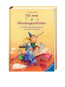 36814 Bilderbücher und Vorlesebücher 100 neue 1-2-3 Minutengeschichten von Wolkenschafen, Zauberern und schlauen Kindern von Ravensburger 2