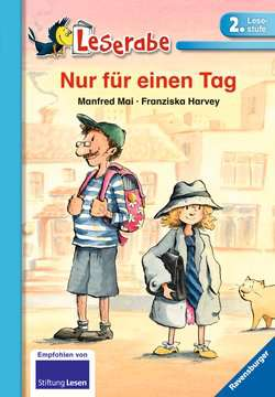 38052 Erstlesebücher Nur für einen Tag von Ravensburger 1