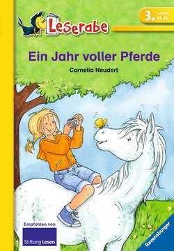 38076 Erstlesebücher Ein Jahr voller Pferde von Ravensburger 1
