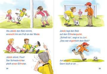 Die Bolzplatz-Bande macht das Spiel! Kinderbücher;Erstlesebücher - Bild 3 - Ravensburger