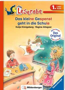 38560 Erstlesebücher Das kleine Gespenst geht in die Schule von Ravensburger 2