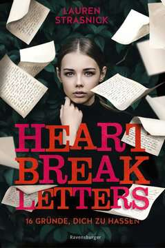 40162 Liebesromane Heartbreak Letters. 16 Gründe, dich zu hassen von Ravensburger 1