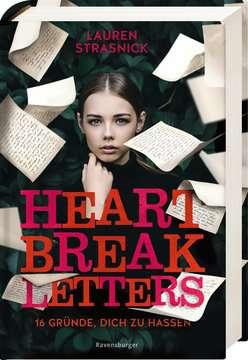 40162 Liebesromane Heartbreak Letters. 16 Gründe, dich zu hassen von Ravensburger 2