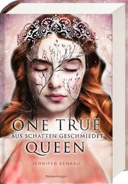 40184 Liebesromane One True Queen, Band 2: Aus Schatten geschmiedet von Ravensburger 2