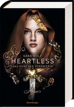 40191 Fantasy und Science-Fiction Heartless, Band 2: Das Herz der Verräterin von Ravensburger 2