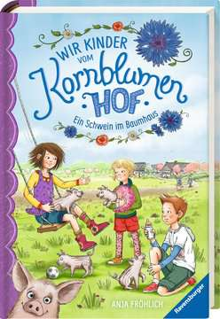 40315 Kinderliteratur Wir Kinder vom Kornblumenhof, Band 1: Ein Schwein im Baumhaus von Ravensburger 2