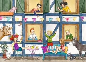 40315 Kinderliteratur Wir Kinder vom Kornblumenhof, Band 1: Ein Schwein im Baumhaus von Ravensburger 4