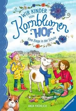 40318 Kinderliteratur Wir Kinder vom Kornblumenhof, Band 4: Eine Ziege in der Schule von Ravensburger 1