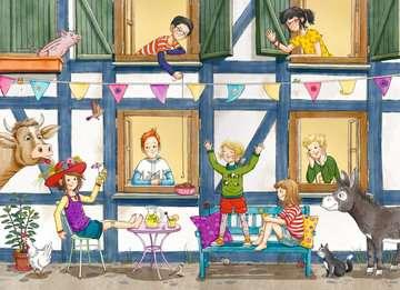 40318 Kinderliteratur Wir Kinder vom Kornblumenhof, Band 4: Eine Ziege in der Schule von Ravensburger 4