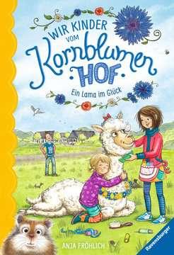 40320 Kinderliteratur Wir Kinder vom Kornblumenhof, Band 6: Ein Lama im Glück von Ravensburger 1