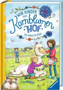 40320 Kinderliteratur Wir Kinder vom Kornblumenhof, Band 6: Ein Lama im Glück von Ravensburger 2