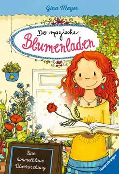 40410 Kinderliteratur Der magische Blumenladen, Band 6: Eine himmelblaue Überraschung von Ravensburger 1